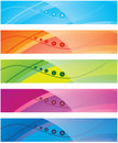 The Collection Of Colorful Backgrounds Stock Photography - 10708952
