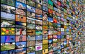 Big Multimedia Video And Image Wall Royalty Free Stock Photography - 107138597