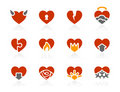Hearts Icons | Sunshine Hotel Series Royalty Free Stock Image - 10720436