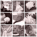 Wedding Concept - Collage Royalty Free Stock Photo - 10727255