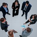 Business People With Their Hands Together In A Circle Stock Photography - 107265402