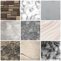 Realistic Stone Texture Patterns Collection Stock Image - 107385801