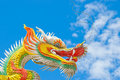 Colorful Chinese Dragon Royalty Free Stock Photos - 10744088