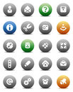 Round Buttons Miscellaneous Stock Image - 10755561