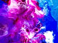 Colorful Creative Abstract Hand Painted Background, Texture, Acr Stock Photography - 107635192