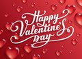 Happy Valentine`s Day Text. Royalty Free Stock Image - 107689946