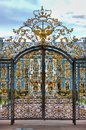 Entrance Gate Of Catherine Palace In St. Petersburg Royalty Free Stock Photography - 107725587