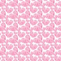 Beautiful Geometric Precious Crystal Graphic Lovely Artistic Tender Wonderful Holiday Bright Valentine Pink Hearts Pattern Waterco Stock Image - 107770971