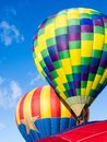 Hot Air Balloons Taking Off At Winthrop Balloon Festival Stock Photography - 107853252