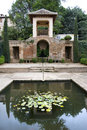 Gardens And Architecture At The Alhambra Royalty Free Stock Image - 10795256