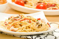Spaghetti Carbonara Royalty Free Stock Photo - 10797105