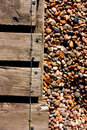 Decking And Pebbles Stock Images - 10799714