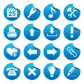 Web Stickers. Part Two Stock Image - 10806071
