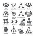 Business Management Icons Pack 33 Stock Photography - 108021232