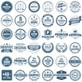 Vintage Retro Vector Logo For Banner Royalty Free Stock Photography - 108081717