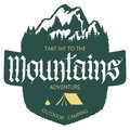Outdoor Mountain Expedition Typography Royalty Free Stock Image - 108192956