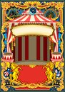 Circus Poster Vector Frame Royalty Free Stock Images - 108210589