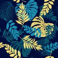 Bright Summer Vector Seamless Pattern Beautiful Artistic Silhoue Royalty Free Stock Images - 108255289