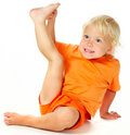 Funny Little Girl Royalty Free Stock Photo - 10830565