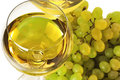 White Wine And Grape Stock Photography - 10837112