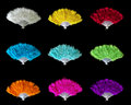 Feather Fans Royalty Free Stock Photos - 10837708