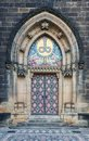 Decorated Church Entrance In Prague Vysehrad Stock Photos - 108308083