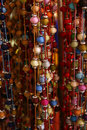 Bundle Of Colorful Beads On A String Stock Photo - 10840340
