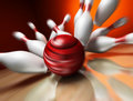 3d Render Of A Bowling Ball Royalty Free Stock Photo - 10843595
