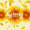 Welcome Spring Background Stock Photo - 108518220