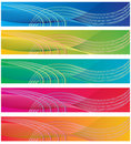 The Collection Of Colorful Backgrounds Royalty Free Stock Photos - 10860378