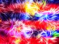 Abstract Image Of A Figure In Neon Light Royalty Free Stock Images - 108620759