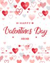 Vector Valentines Day Card Royalty Free Stock Photos - 108699798