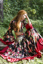 A Beautiful Ginger-haired Girl In Gipsy Suit Stock Images - 10871864