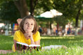 Student In Park Royalty Free Stock Image - 10873246