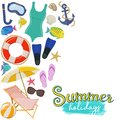 Beach Summer Holidays Stock Images - 108784384