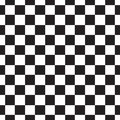 Checkerboard Seamless Pattern. Black And White Abstract, Geometric Infinite Background. Square Repeating Texture. Modern Stock Photos - 108815913