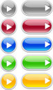 Web Buttons (play) Stock Photography - 10894202