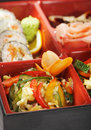 Japanese Cuisine - Bento Lunch Stock Images - 10895284