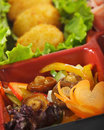 Japanese Cuisine - Bento Lunch Stock Photography - 10895362