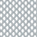 Rope Seamless Pattern, Trendy Vector Wallpaper Background. Weavi Royalty Free Stock Image - 108953656