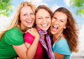 Girlfriends 3 Royalty Free Stock Images - 10900139