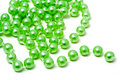 Mineral Deposit Of Green Beads Royalty Free Stock Photo - 10908855