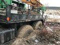 A Tow Truck Stuck In The Mud. Stock Photography - 109157902