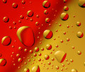 Red-yellow Drops Stock Photography - 10922032