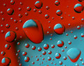 Red-blue Drops Royalty Free Stock Images - 10922049