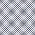 Seamless Pattern With Geometric Ornament. Diagonal Stripes Grill Background. Crossing Lines Wallpaper. Thin Line Grid. Stock Image - 109214301