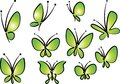 Flower And Butterfly Drawing Background Stock Images - 109221374