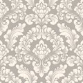 Vector Damask Seamless Pattern Element. Classical Luxury Old Fashioned Damask Ornament, Royal Victorian Seamless Texture Royalty Free Stock Image - 109353576