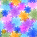 Abstract Seamless Floral Pattern Stock Photos - 10941063