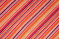Striped Scarf For Fabric Texture Stock Photos - 10958593